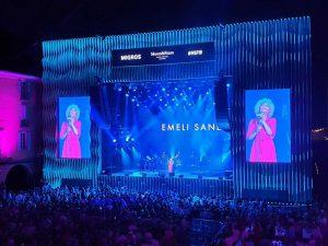 Emeli Sande Main Stage Shot
